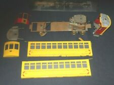 O Scale Two Truck 42' Trolley for Restoration