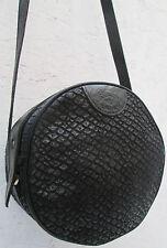 -Magnifique  sac à main IL BISONTE  cuir TBEG  bag vintage