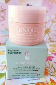 Clinique Moisture Surge 100H Auto-Replenishing Hydrator 0.5oz / 15ml New In Box