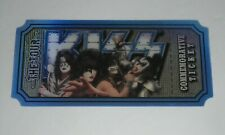 KISS  ''THE TOUR''  OFFICIAL VIP PACKAGE COMMEMORATIVE TICKET -  SIMMONS STANLEY
