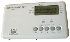 Horstmann CentaurPlus C27 Time Switch / Programmer 7 Day Central Heating Timer