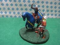 Ritter / Médiéval Diorama 2 Figurine Cv - Metal Toy Soldier Figurine Set