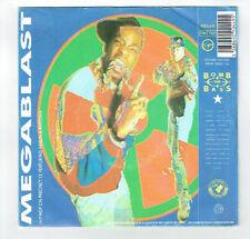 "BOMB THE BASS Vinyl 45T 7"" MEGABLAST -DON'T MAKE ME WAIT -RHYTHM KING 90449 RARE"