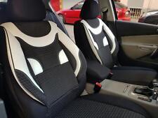 Sitzbezüge Schonbezüge für Dodge Nitro schwarz-weiss NO2060963 Set