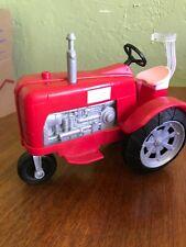"2017 Mattel Farmer Barbie's Red & Pink Farm 9"" Tractor"