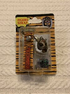 Vintage RARE 1981 First Tiger Mask Figure Strap Keychain Character Pro Japan