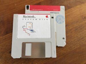 Macintosh  System Disk floppy 400K (1985) 690-5003-E 128K, 512K, 512ke,Se,Plus