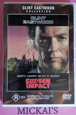 SUDDEN IMPACT - CLINT EASTWOOD COLLECTION #21512 WARNER BROTHERS DVD PAL OOP