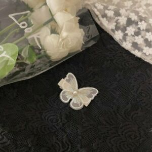 Butterfly Pearl Clips Barrettes Hair Clip Headband Women Girls Hair Accessories