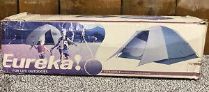 Eureka! Tetragon 8 Recreation Tent 12' x 10' 20lb Mesh Sid & Roof New In Box