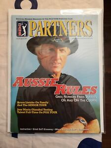 PGA Tour Partners Back Issue July/August 2001 Greg Norman Aussie Rules