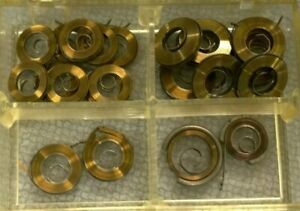 New Assorted Watch Mainspring Lot - Watchmaker Repair Replacement Parts