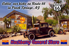 Route 66 Fridge Magnet Hackberry General Store in Peach Springs, AZ onRoute 66
