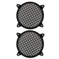 "2 Goldwood Sound SWG-8 Steel Waffle Woofer Grills w/ Hardware for 8"" Speakers"