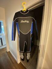 Scuba Max Titanium xxl mens Wetsuit And Booties (size 11)