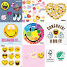 Servietten 3-lagig 1/4-Falz 33x33cm Smileys Emoticons Emojis Smilies Dekor Party