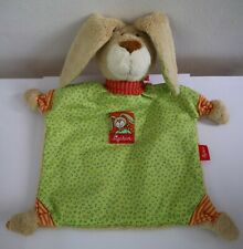 Sigikid Rabbit Bunny Comforter Plush Toy Blankie Soother