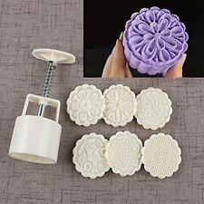 Bath Bomb Mold Kit Diy Making Supplies Tool Bombs Press 6 Stamps 1 Barrel New
