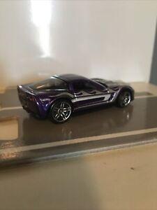 HOT WHEELS Loose MYSTERY CAR '09 Corvette ZR1 (Purple Version)