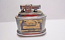 VINTAGE 1960'S MTC BELL TABLE LIGHTER - RYE FUEL & SUPPLY CO. & THE SQUARE HOUSE