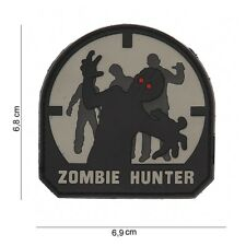AIRSOFT Patch PVC Zombie hunter SWAT