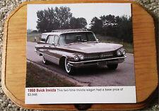 1960 Buick Invicta Station Wagon Car Plaque