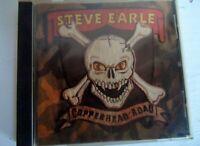 Vintage Steve Earle CD - 1988 - copperhead road - made in England