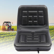 More details for universal tractor seat black dumper mower replacement part 140mm slide durable
