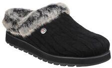 Womens Skechers Keepsakes - Ice Angel Slip on Plush Foam Slippers Sizes 4 to 8 UK 7