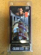 Tapout Youth Mouthguard Ages 5-11 White/Maroon And Black/Maroon