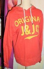JACK & JONES Top sweat shirt NEUF couleur rouge taille L 40 42 en 100% coton