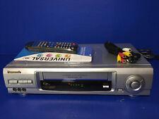 Panasonic Model PV-V4621 Omnivision VCR VHS Player