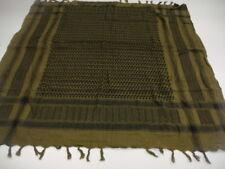 Orig.NL Armee SHEMAG - PLO Tuch - Fransenschal oliv 92x92 cm neuwertig