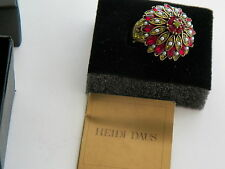 HEIDI DAUS SIZE 9 PRINCESS DOME  RING