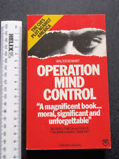 Operation Mind Control Walter Bowart (Paperback 1978) CIA USA SPIES PSYCHOLOGY