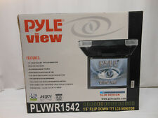 "PLYE VIEW 15"" Flip Down TFT LCD Monitor ""Slim Design"""