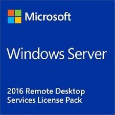 Windows Server 2016 RDS 50 User CAL + 50 Device CAL, Remote Desktop Services