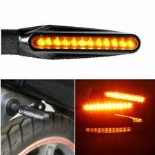 4x Motorrad LED Blinker mit Lauflicht Laufeffekt 12V e-geprüft Quad ATV Roller