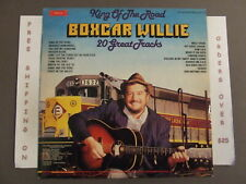 BOXCAR WILLIE KING OF THE ROAD LP SMI 1-24