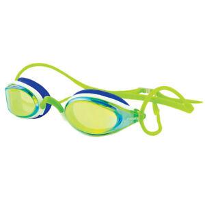 FINIS Mirrored Circuit Comfortable Ergonomic Race Practice Swimming Goggles New
