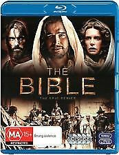 THE BIBLE BLU RAY- NEW & SEALED 4 DISC SET, EPIC MINI SERIES, JESUS OF NAZARETH