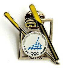Pin Spilla Olimpiadi Torino 2006 Attrezz. Sportive - Salto