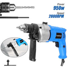 950w Electric Corded Hammer Drill Brushless Variable Speed 12 Power Tool Us