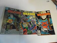 "DC Comics ""This Is Wild Dog"" Comic 1-3 NICE"