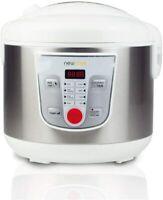 NEWCOOK Robot de Cocina Multifunción, Capacidad 5 Litros, Programable Hasta 24H,