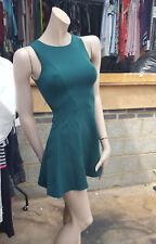 BNWT Gorgeous Top Shop Petite Teal Green Strechy Dress UK 4 Priced £46 Fabulous!