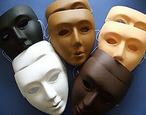10 Multicultural Full Face Craft Masks for Kids to Decorate | Masks to Decorate