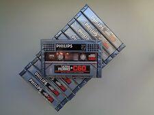 12 Audio Cassette Tape PHILIPS Ultra Ferro C60 From 1981 - New & Sealed