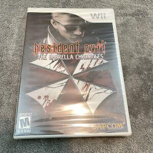 Resident Evil: The Umbrella Chronicles (Nintendo Wii, 2007) New Sealed !