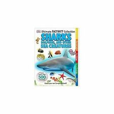 Ultimate Factivity Collection Sharks DK 500 Stickers Create Learn Draw Fun